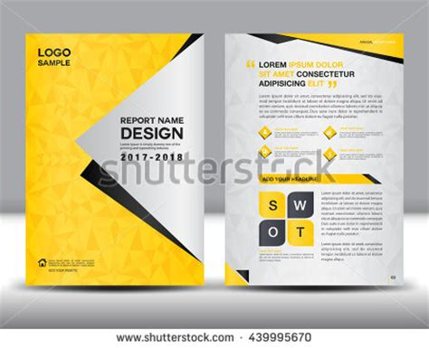 Company Profile Design Stock Images Royalty Free Images Vectors Shutterstock Book Advertisement Template