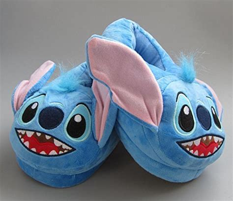 lilo and stitch slippers fatflyshop lilo and stitch plush indoor bedroom