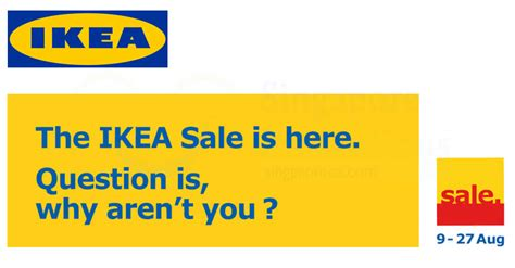 ikea sales 2017 ikea sale starts from 9 27 aug 2017