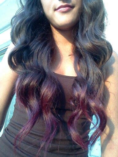 dyed hairstyles for brunettes kool aid hair tips to achieve this color on brunette