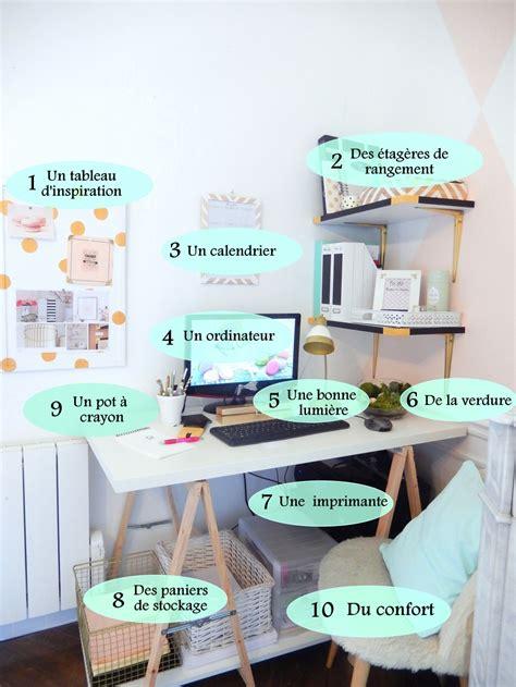 Organiser Bureau by Mes Essentiels Pour Organiser Mon Bureau Mon Carnet D 233 Co