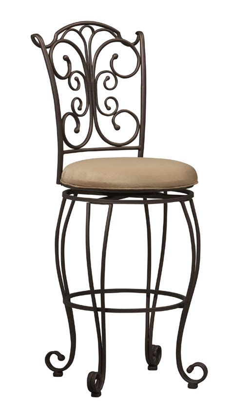 30 inch gathered back bar stool by linon home decor in