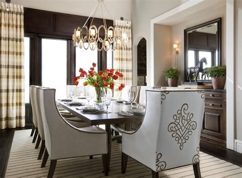 Decorating A Dining Room Table by Hamptons Inspired Luxury Home Dining Room Robeson Design