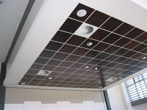 Wood Veneer Ceiling Panels by Reduce Cafeteria Noise Sontext Panels