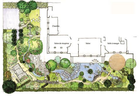Exemple Jardin Japonais by Conception D Un Jardin Japonais Un Plan D 233 Taill 233