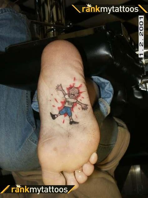 funny tattoos for men i foot nancyschmitz4262