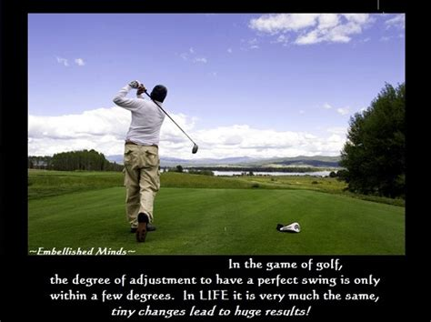 golf swing quotes motivational quotes in the game of golf