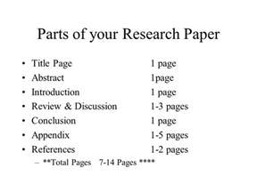 science fair research paper ppt
