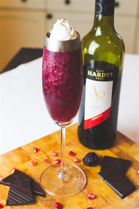 red wine cocktail recipes  winter christmas drinks
