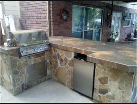 Flagstone Countertops by Flagstone With Tile Countertop Outdoor Space
