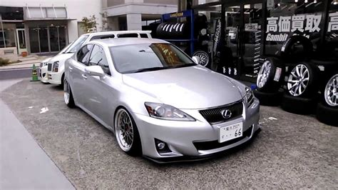 slammed lexus is250 slammed lexus is350 on 18 custom bbs lm reverse 9 5j 10j