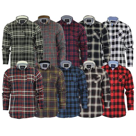 Sleeve Check Cotton Shirt mens checked shirts artee shirt
