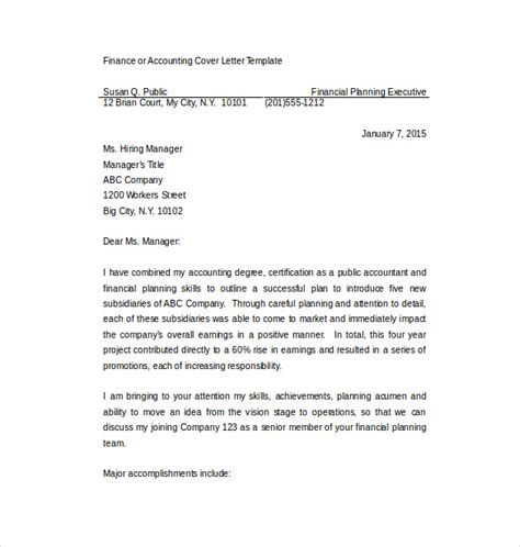 8 employment cover letter templates free sle