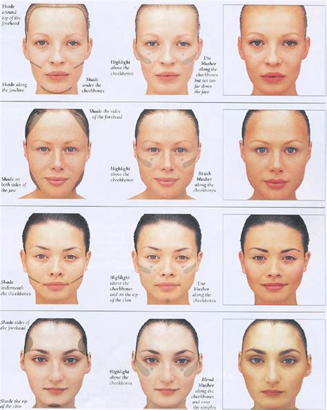 types of faces shapes msnaturalbeautie most common face shapes