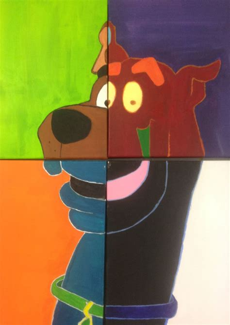 scooby doo painting scooby doo pop by spooks411 on deviantart