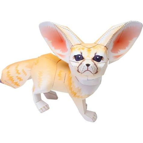 Canon Papercraft Animals - canon papercraft animal paper model fennec fox free