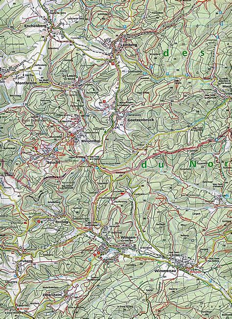 Vogesen Motorrad Gpx by Kompass Karte Elsass Vogesen Nord 2 Bl Alsace Vosges
