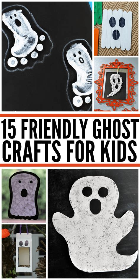 friendly ghost crafts  kids ghost crafts
