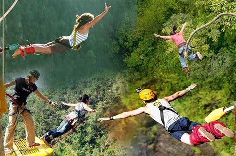 best bungee jumping bungee jumping in india places for bungee jumping in india