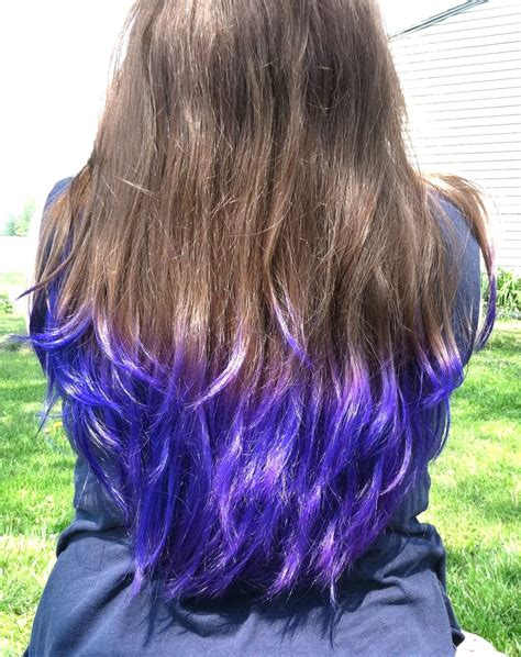 advice on hair colors 123beautysolution in purple tips on light brown hair www imgkid com the