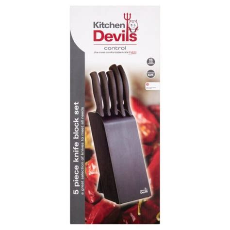 kitchen devil knives set kitchen devil knives set kitchen devils 9 piece knife