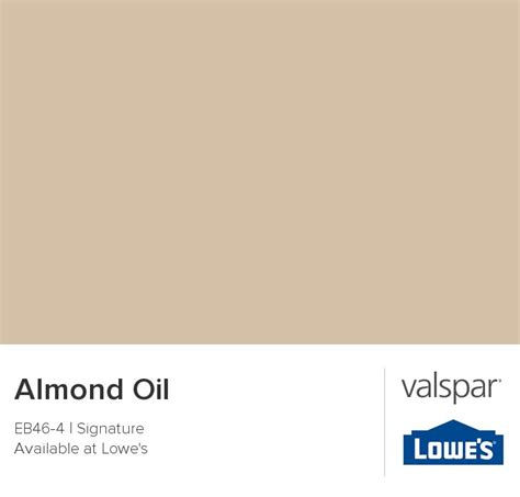 almond from valspar paint colors