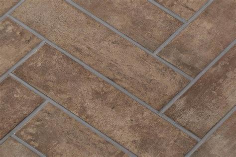 piastrelle bagno rustico gres porcellanato rustico manoir tabacco 12 5x50 ceramiche