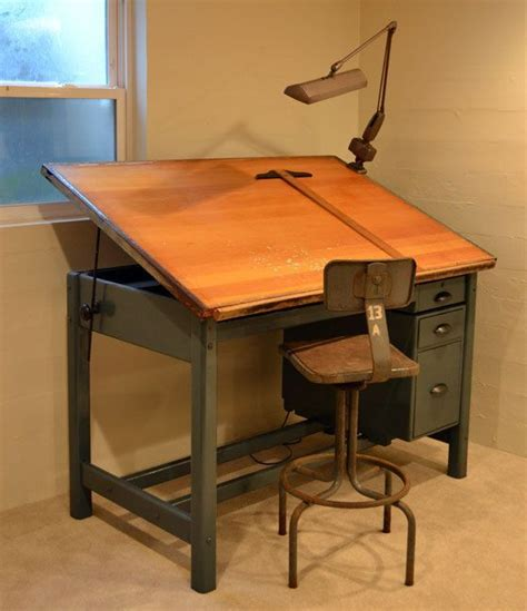Drafting Table And Desk 25 Best Ideas About Vintage Home Offices On Desk Space Study Desks And