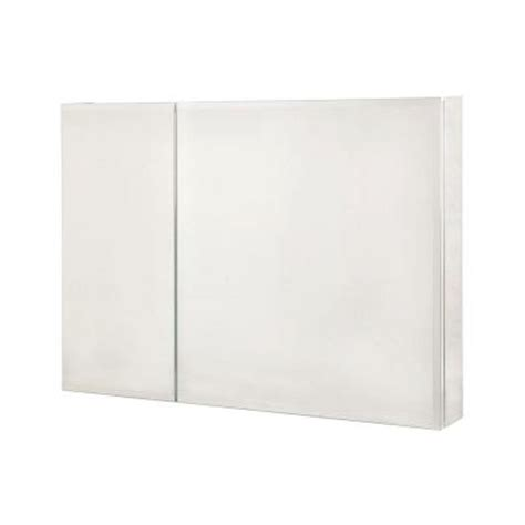 36 inch medicine cabinet 36 in x 26 in recessed or surface mount medicine cabinet