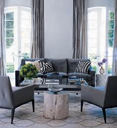 gray furniture living room charcoal gray couch transitional living room elle decor