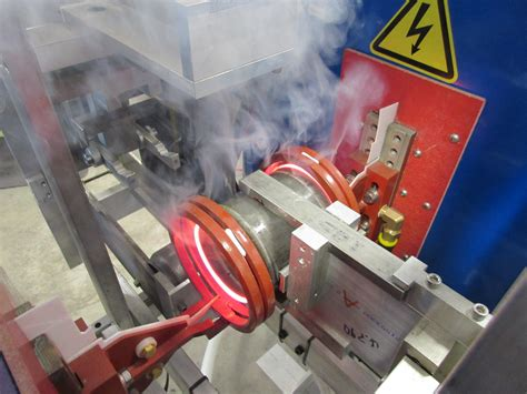 heat treating heat treating machines with induction