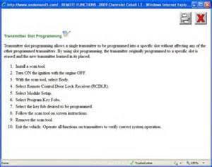 how to program gm key fobs askcom autos post