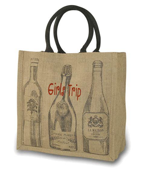 Travel Bag Kanvas Kiwi wine travel tote canvas wine tote