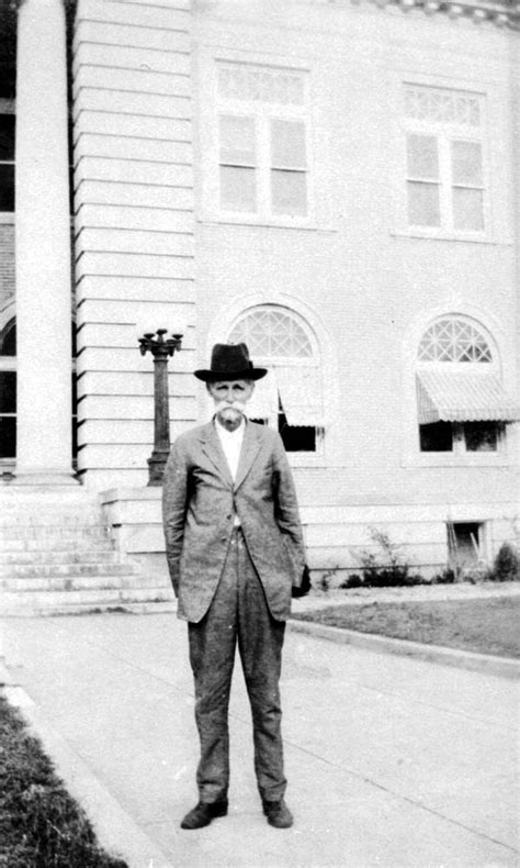 Mcdonald County Court Records Florida Memory Norman W Mcdonald Standing In Front Of