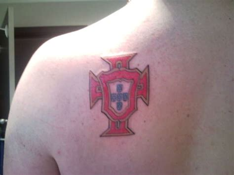 portuguese cross tattoo portuguese flag arm www pixshark images