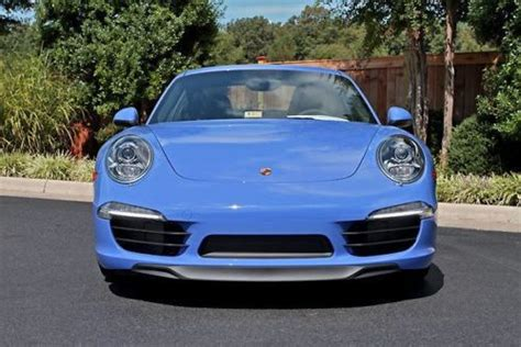 find new brand new 2015 porsche 911 s paint to sle maritime blue in midlothian