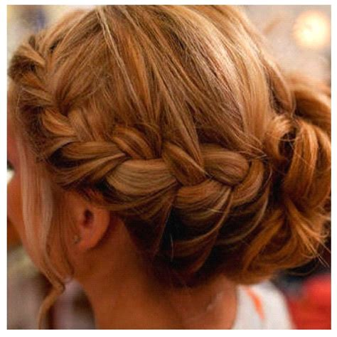 how to put braids into a bun french braid into a bun products i love pinterest