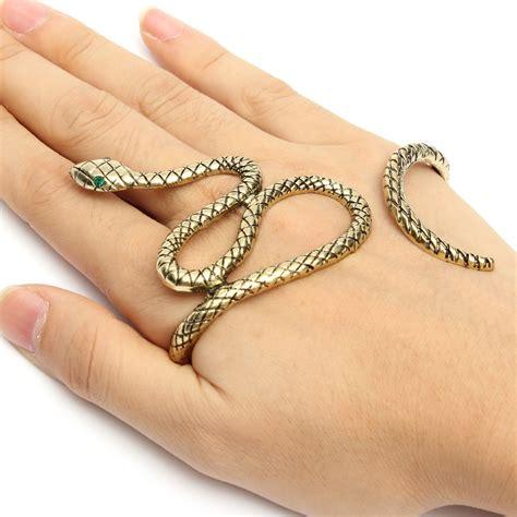 Snake Cobra Bracelet 1901 Jewelry snake palm bracelet bangle cuff ring