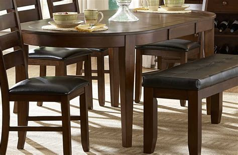 oval kitchen table with bench oval dining table for your cozy dining space traba homes