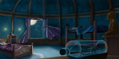 peter pan bedroom peter pan darling s nursery by srabbitt on deviantart