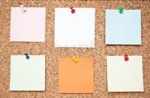 crime bulletin template blank memo notes on cork board stock photo colourbox