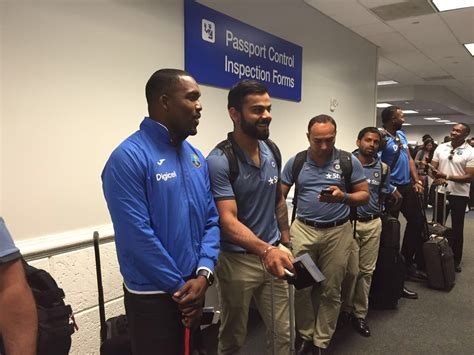 team india indian cricket team arrives in united states for t20 series