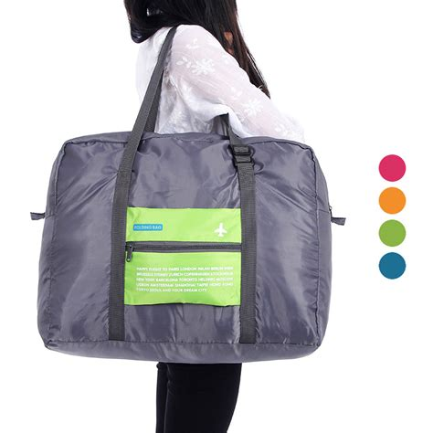 Wa2823 3 Tas Pouch Travel Penyimpanan Serbaguna Set foldable travel bag carry tas lipat happy flight folding bag 32 l elevenia