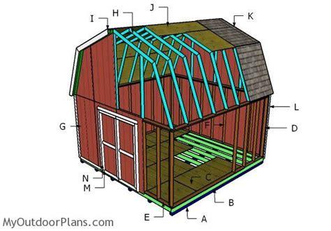 barn shed roof plans myoutdoorplans