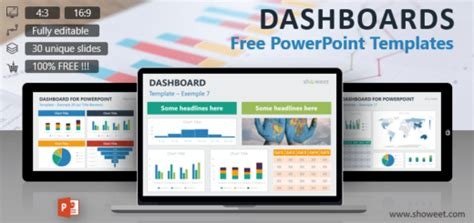 Strategy Free Templates Free Dashboard Templates Powerpoint