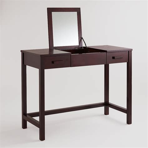 Vanity Table by Mahogany Vanity Table World Market