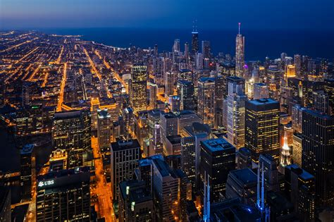 Building A Home In Michigan by From The Top Of The Willis Tower In Chicago Another Angle