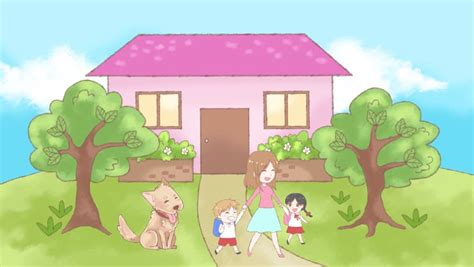 thesweethome com animation doodle cartoon of a lonely dog pet waiting