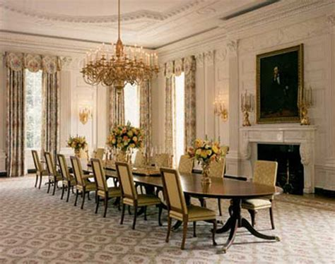 Rooms Of The White House by File White House Floor1 State Dining Room Jpg
