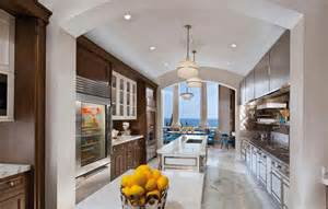 galley kitchen with island 22 luxury galley kitchen design ideas pictures